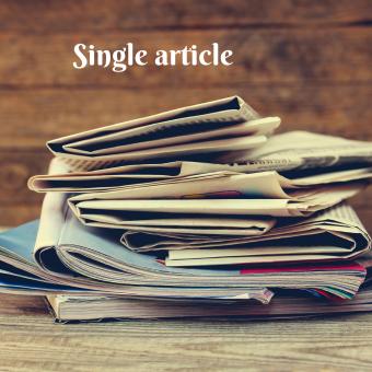 Single article